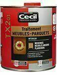 Traitement meubles parquets boiseries TX201 pot de 1L incolore - Traitements curatifs et préventifs bois - Aménagements extérieurs - GEDIMAT