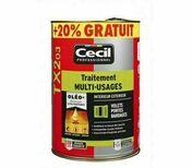 Traitement multi usages TX203  - pot 5l+20% - Traitements curatifs et préventifs bois - Peinture & Droguerie - GEDIMAT