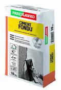 Ciment fondu pour la réalisation de mortier très résistant à l'abrasion sac de 10kg - Truelle italienne ronde manche bi matière diam.24cm - Gedimat.fr