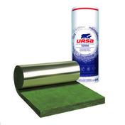 Laine de verre en rouleau MNU 40 non revêtue ép.100mm larg.1,20m long.8m - Enduit de parement traditionnel PARDECO FIN sac de 25kg coloris V52 - Gedimat.fr