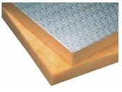 Laine de verre en panneau rigide URSA ALU revêtue kraft aluminium gaufré ép.50mm larg.1,00m long.1,985m - Toiture - Combles - Isolation & Cloison - GEDIMAT