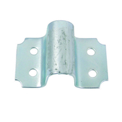 Gache crampon à visser en acier diam.14mm finition zinguée blanc - Quincaillerie de portail et garage - Quincaillerie - GEDIMAT