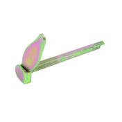 Arrêt à sceller carré en acier long.130mm finition bichromatée - Quincaillerie de volets - Menuiserie & Aménagement - GEDIMAT