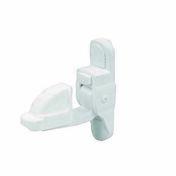 Arrêt automatique en composite 6x36mm blanc - Quincaillerie de volets - Menuiserie & Aménagement - GEDIMAT