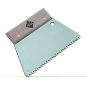Spatule peigne triangulaire 18 cm 3 x 3 mm - Outillage du carreleur - Revêtement Sols & Murs - GEDIMAT