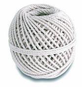Cordeau coton câblé écru diam.1,5mm long.60m 100g - Chaines - Cordes - Arrimages - Quincaillerie - GEDIMAT