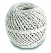 Cordeau coton câblé écru diam.2,5mm long.30m 100g - Chaines - Cordes - Arrimages - Quincaillerie - GEDIMAT