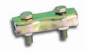 Serre cable plat + 2 boulons diam.4mm - Chaines - Cordes - Arrimages - Quincaillerie - GEDIMAT