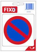 Autocollant stationnement interdit - 100x100mm - Signalisation - Outillage - GEDIMAT