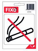 Autocollant défense de fumer - 100x100mm - Signalisation - Outillage - GEDIMAT