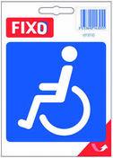 Autocollant toilette handicapé - 100x100mm - Signalisation - Outillage - GEDIMAT