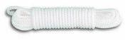 Drisse tressée polypropylène blanc diam.3mm long.20m - Chaines - Cordes - Arrimages - Quincaillerie - GEDIMAT