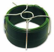 Fil acier plastifié vert diam.ext.1,4mm long.30m - Chaines - Cordes - Arrimages - Quincaillerie - GEDIMAT
