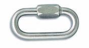 Maillon rapide série normale acier zingué fil diam.8mm 1 pièce - Chaines - Cordes - Arrimages - Quincaillerie - GEDIMAT