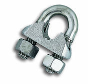 Serre cable etrier diam.10mm - Chaines - Cordes - Arrimages - Quincaillerie - GEDIMAT