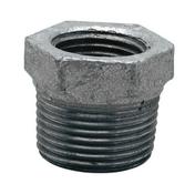 Réduction acier galvanisé FG241 mâle diam.15x21mm femelle diam.12x17mm avec lien 1 pièce - Bouchon acier galvanisé hexagonal 6 pans femelle diam.12X17mm avec lien 1 pièce - Gedimat.fr
