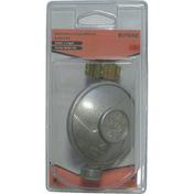 Détendeur bouteille butane débit 1,3 kg/h 28 mb - avec securite coque 1 piece - Alimentation gaz - Plomberie - GEDIMAT