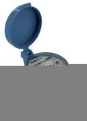 Compteur divisionnaire d'eau froide laiton diam.20x27mm sous coque de 1 pièce - Robinetterie du bâtiment - Plomberie - GEDIMAT