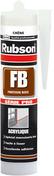 Mastic de calfeutrement acrylique FB cartouche 300 ml acajou - Mastics - Peinture & Droguerie - GEDIMAT