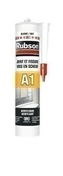 Mastic de construction acrylique A1 cartouche 300ml blanc - Chant plat Samba 2 arrondis section 6x30mm long.2,40m - Gedimat.fr