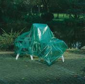 Bâche multi-usage polyéthylène armée DELTA-PLAN 1000 larg.4m long.6m verte translucide - Bâches - Outillage - GEDIMAT