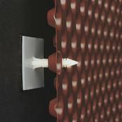 Clous adhésifs DELTA - Barre d'appui OVALIE pour fenêtre Long.1,40 m en aluminium gris 7016 sablé - Gedimat.fr