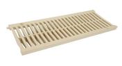 Grille PVC légère pour caniveau NICOLL GRL88S gamme connecto larg.200mm coloris gris sable long.0,5m - Té cuivre à souder égal femelle-femelle 130CU diam.12mm en sachet de 10 pièces - Gedimat.fr