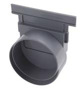 Fond/naissance PVC pour caniveau hydraulique NICOLL NAT177 gamme connecto haut larg.130mm sortie d'extrémité ou latérale diam.100mm - Câble électrique unifilaire cuivre H07VU section 1,5mm² coloris noir en bobine de 5m - Gedimat.fr
