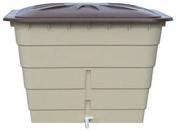 Cuve à eau rectangulaire 520 L coloris sable - Récupération d'eau de pluie - Couverture & Bardage - GEDIMAT