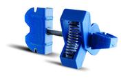 Appui interm�diaire de doublage URSAFIX RT long.75mm bo�te de 50 pi�ces - C�ble �lectrique unifilaire cuivre H07VU section 1,5mm� coloris bleu en bobine de 100m - Gedimat.fr