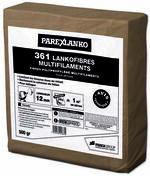 Microfibres polypropylène pour dallages et bétons 361 LANKOFIBRES MULTIFILAMENTS 500g - Fronton pour faîtière 1/2 ronde à recouvrement coloris ardoise - Gedimat.fr