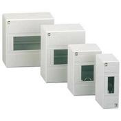 Coffret à équiper mini Opale 16 pas 8 modules - Tableaux électriques - Electricité & Eclairage - GEDIMAT