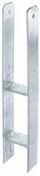 """Ancre """"H"""" à sceller pour poteau 9x9 cm - Fenêtre PVC blanc CALINA 2 vantaux oscillo-battant haut.1,15m larg.1,00m vitrage 4/16/4 basse émissivité - Gedimat.fr"""