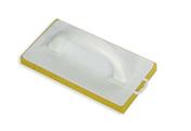 Taloche monobloc mousse polyuréthane rectangulaire 14x25cm jaune - Demi-tuile GALLEANE 12 coloris rouge - Gedimat.fr