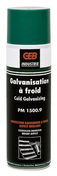 Protection galvanique à froid aérosol 650/500ml brillant - Pâtes et Mastics sanitaires - Plomberie - GEDIMAT