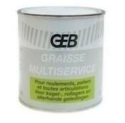 Graisse multiservice boîte 600g - Lubrifiants - Outillage - GEDIMAT