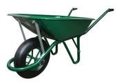 Brouette tous travaux 1 roue gonflable 100L - Bétonnières - Brouettes - Malaxeurs - Outillage - GEDIMAT