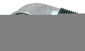 Coude acier galvanisé mâle femelle petit rayon FG92 diam.12x17mm avec lien 1 pièce - Coude plastique mâle diam.15x21mm pour branchement tube polyéthylène diam.20mm en vrac 1 pièce - Gedimat.fr