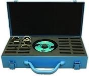 Coffret bois avec porte outils et 6 jeux de fers profiles - Machines d'atelier - Outillage - GEDIMAT