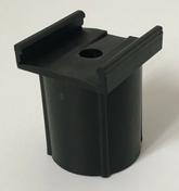Clips de fixation de pose pour règle joint TOFOBASE 40. Haut.44,3 mm, Larg.34 mm - Kit règle joint 40 avec embase + support TOFFOLO - Gedimat.fr