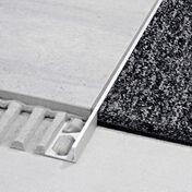 Profilé pour sols Schlüter®-SCHIENE-AE 80 2,5m - Couvre joint dilatation TOFFOLO modèle plat en aluminium ép.5mm long.3m larg.12cm - Gedimat.fr