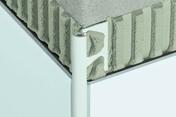Profilé d'angle en PVC Schlüter Rondec PRO long.2,50m ép.10mm coloris blanc - Accessoires pose de carrelages - Revêtement Sols & Murs - GEDIMAT