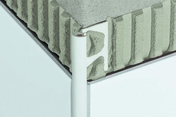 Profilé pour murs Schlüter®-RONDEC-PRO 125 blanc 2,5m - Tuile à douille AQUITAINE diam.150mm coloris paysage - Gedimat.fr