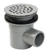 Bonde siphoïde PVC pour receveur de douche diam.61mm à coller sortie horizontale en sachet de 1 pièce - Escalier droit KARINA en acier plastifié gris haut.2,28/2,82m marches en bois (hêtre) clair finition verni - Gedimat.fr
