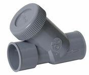 Clapet anti-retour PVC NICOLL pour réseau de vidange d'eau usée diam.32mm coloris gris - Pièces détachées robinetterie - Cuisine - GEDIMAT