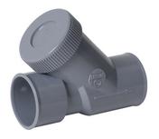 Clapet anti-retour PVC NICOLL pour réseau de vidange d'eau usée diam.40mm coloris gris - Manchon égal pour raccord multicouche à compression tube diam.20mm - Gedimat.fr