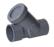 Clapet anti-retour PVC NICOLL pour réseau de vidange d'eau usée diam.50mm coloris gris - Mamelon laiton 246E égal mâle femelle diam.15x21mm en vrac - Gedimat.fr