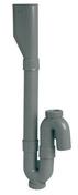 Siphon double orientable pour machine à laver à sortie verticale diam.40mm - Evacuation machine à laver - Plomberie - GEDIMAT