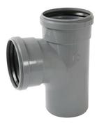 Culotte PVC à joint NICOLL mâle-femelle diam.125mm angle 87°30 - Tubes et Raccords d'évacuation eau - Plomberie - GEDIMAT