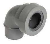 Coude PVC d'évacuation sanitaire NICOLL mâle-femelle à joint diam.40mm angle 87°30 coloris gris - Rive individuelle droite PLATE 17x27 Phalempin coloris vieilli - Gedimat.fr
